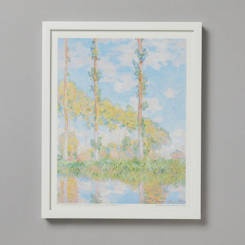 フレームセット<br>陽を浴びるポプラ並木