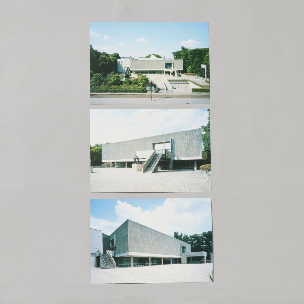 国立西洋美術館本館 写真はがきセット