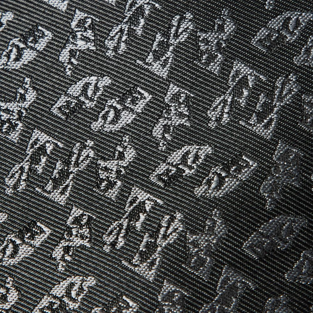 ネクタイ考える人 織り グレー