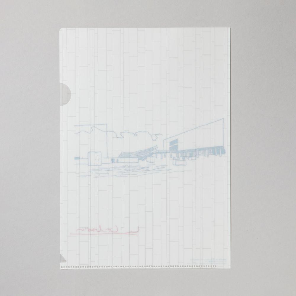 ファイル ル・コルビュジエ/散策広場スケッチ