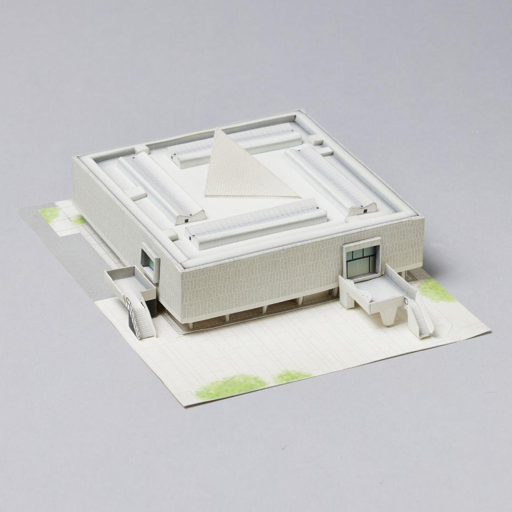 ペーパークラフト 国立西洋美術館本館