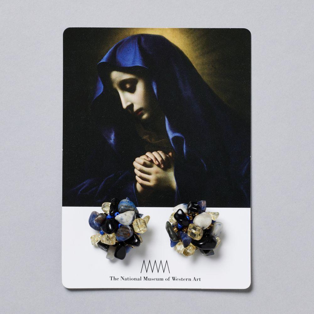 ストーンイヤリング 聖母