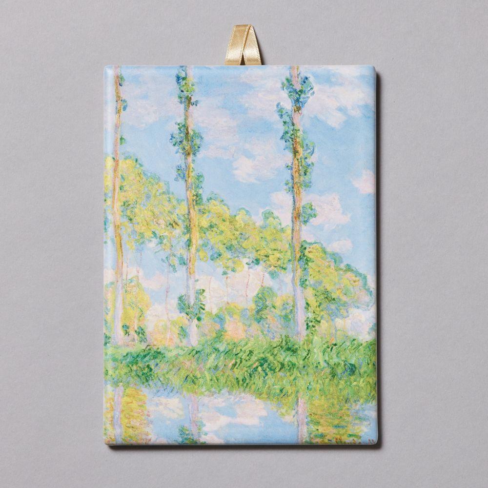 飾りタイル ポプラ並木