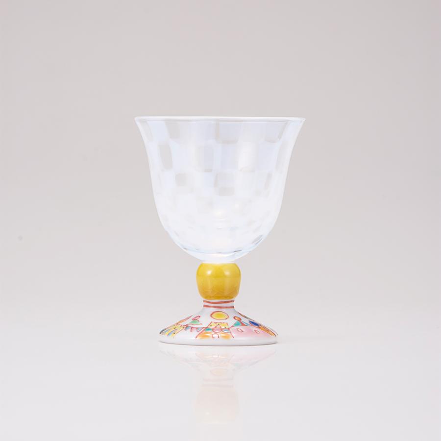 冷酒グラス(オパール)街の広場