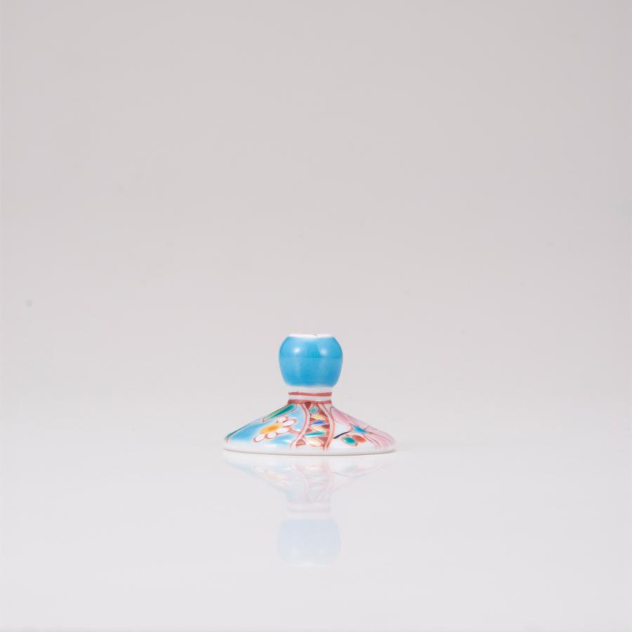 冷酒グラス(オパール)花のタペストリー