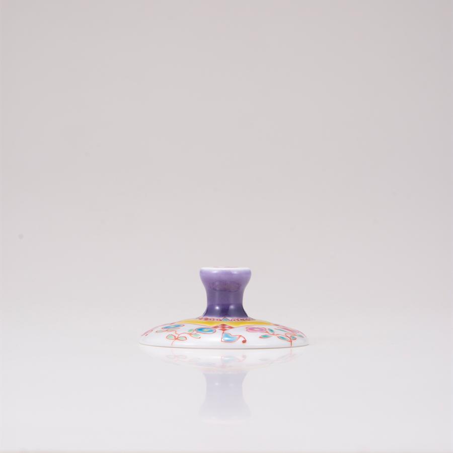 デザートグラス大(斜)フラワーハウス
