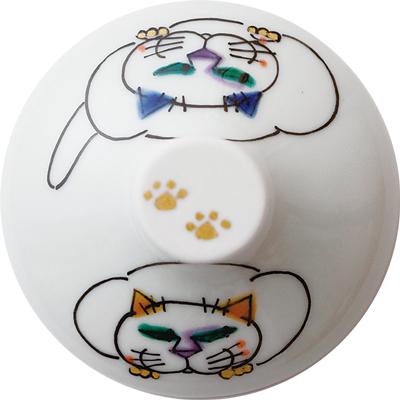 デザートグラス大(斜)ネコの休日