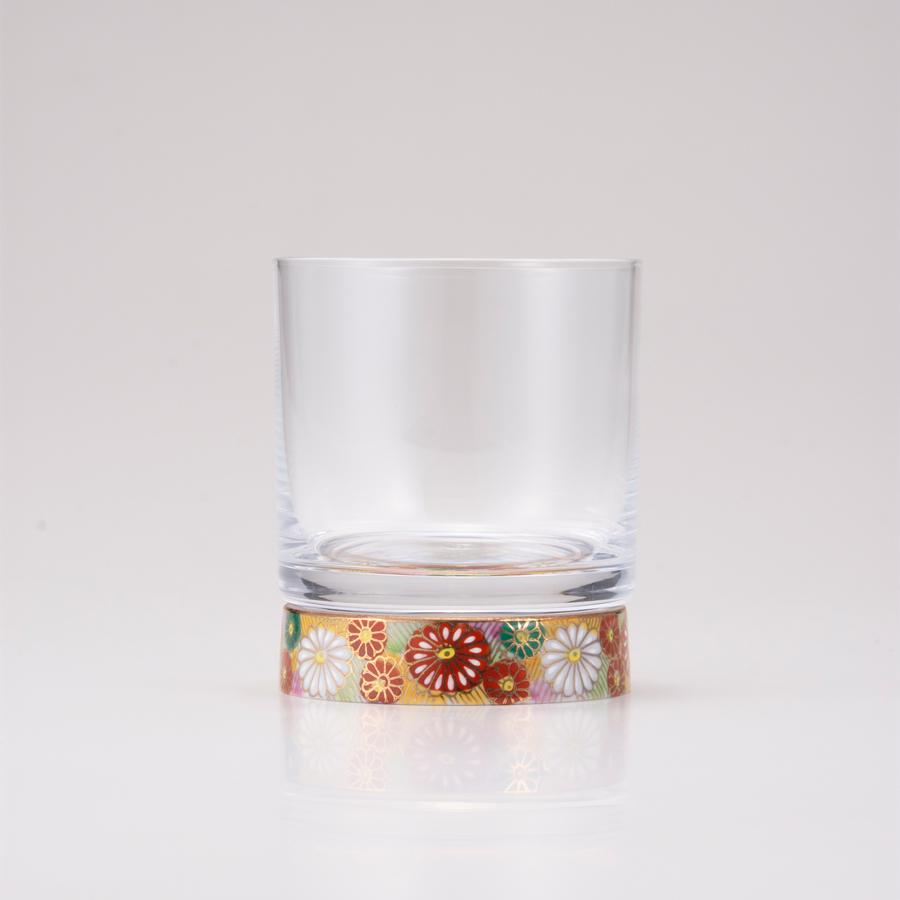 ロックグラス金花詰