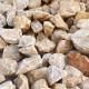 砕石砂利 3-4cm 500kg パンプキンイエロー