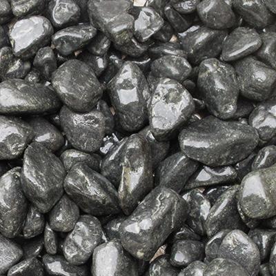 玉石砂利 3-4cm 140kg トップブラック