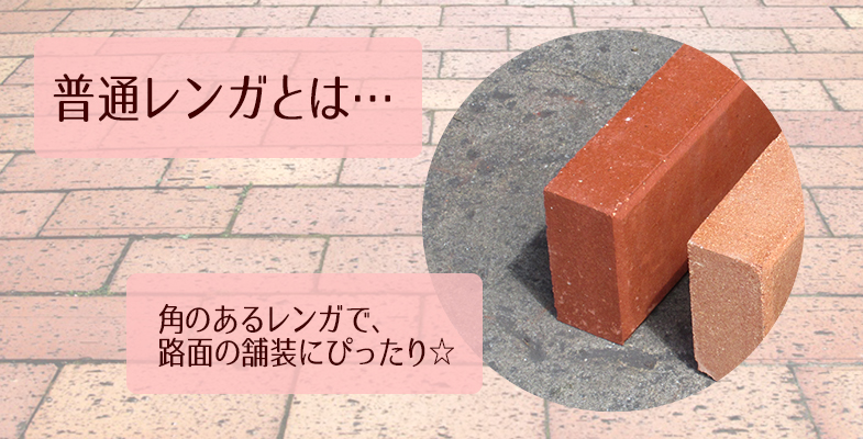 普通レンガ トマトレッド 50個セット(1平米分)