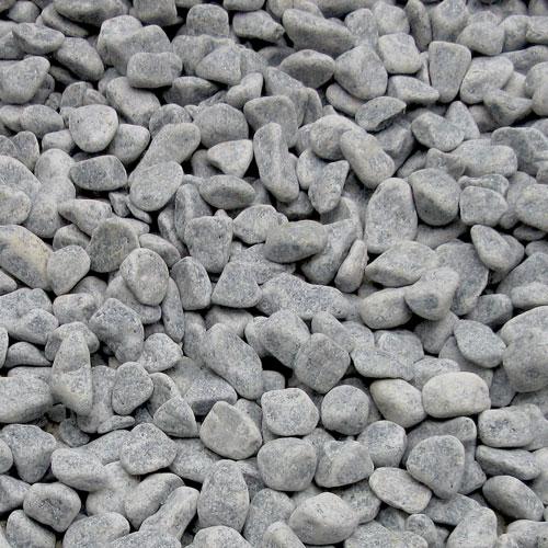 玉石砂利 1-2cm 800kg スレートグレー
