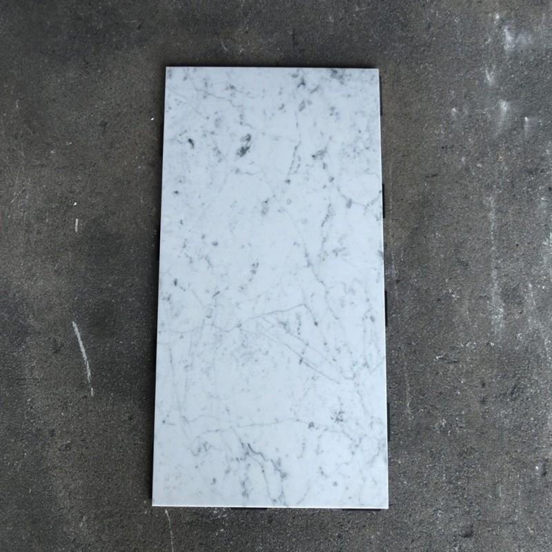 大理石パネル ビアンコカララ(イタリア産) 300×600×12mm 8枚セット