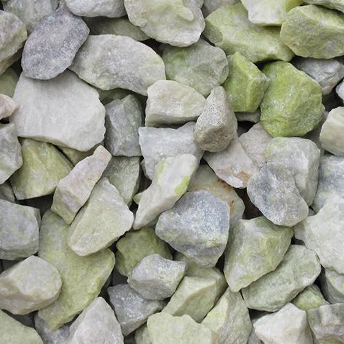 砕石砂利 3-4cm 100kg グラスグリーン