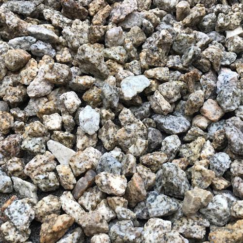 砕石砂利 1-2cm 100kg ゴールデンイエロー