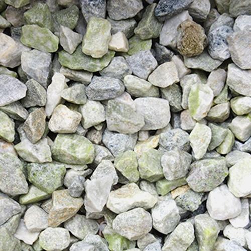 砕石砂利 1-2cm 800kg グラスグリーン