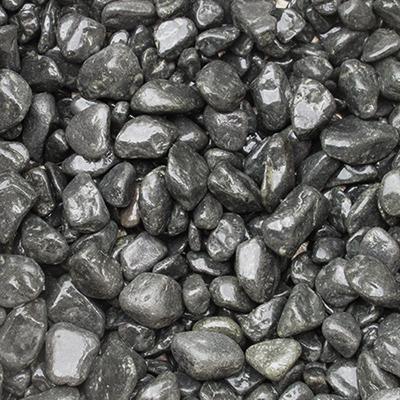 玉石砂利 1-2cm 20kg トップブラック