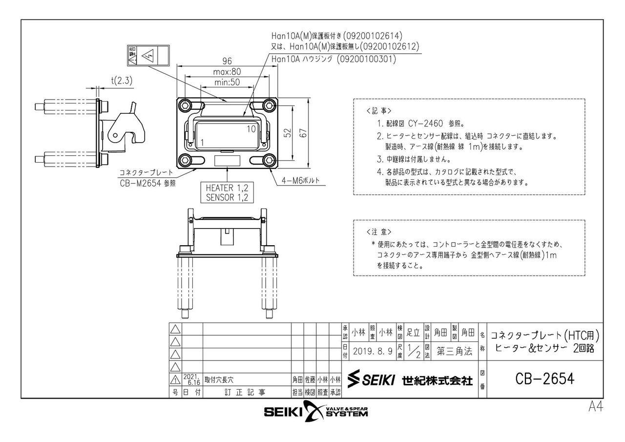 コネクタープレート【HTCコントローラ用】