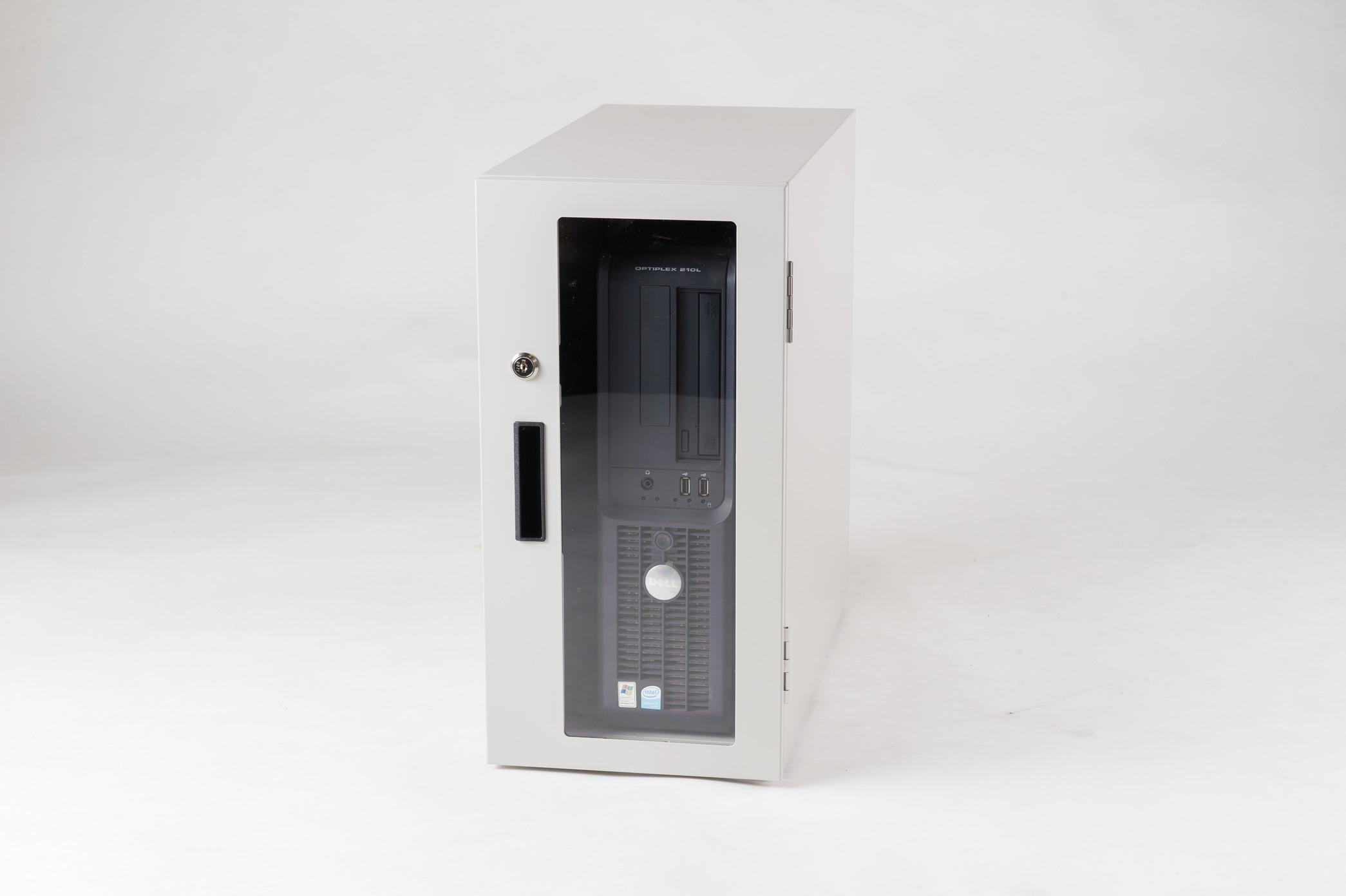 防塵ラック Tidy Box CPU 4UW ライトグレー