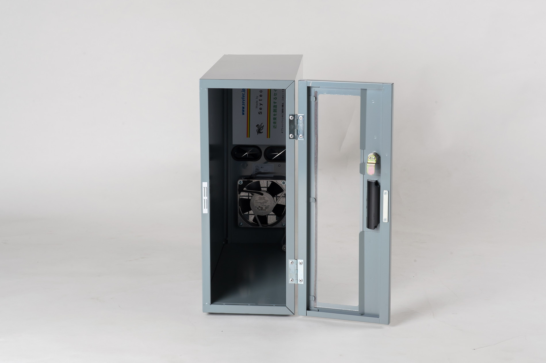 防塵ラック Tidy Box CPU 3UG グレー