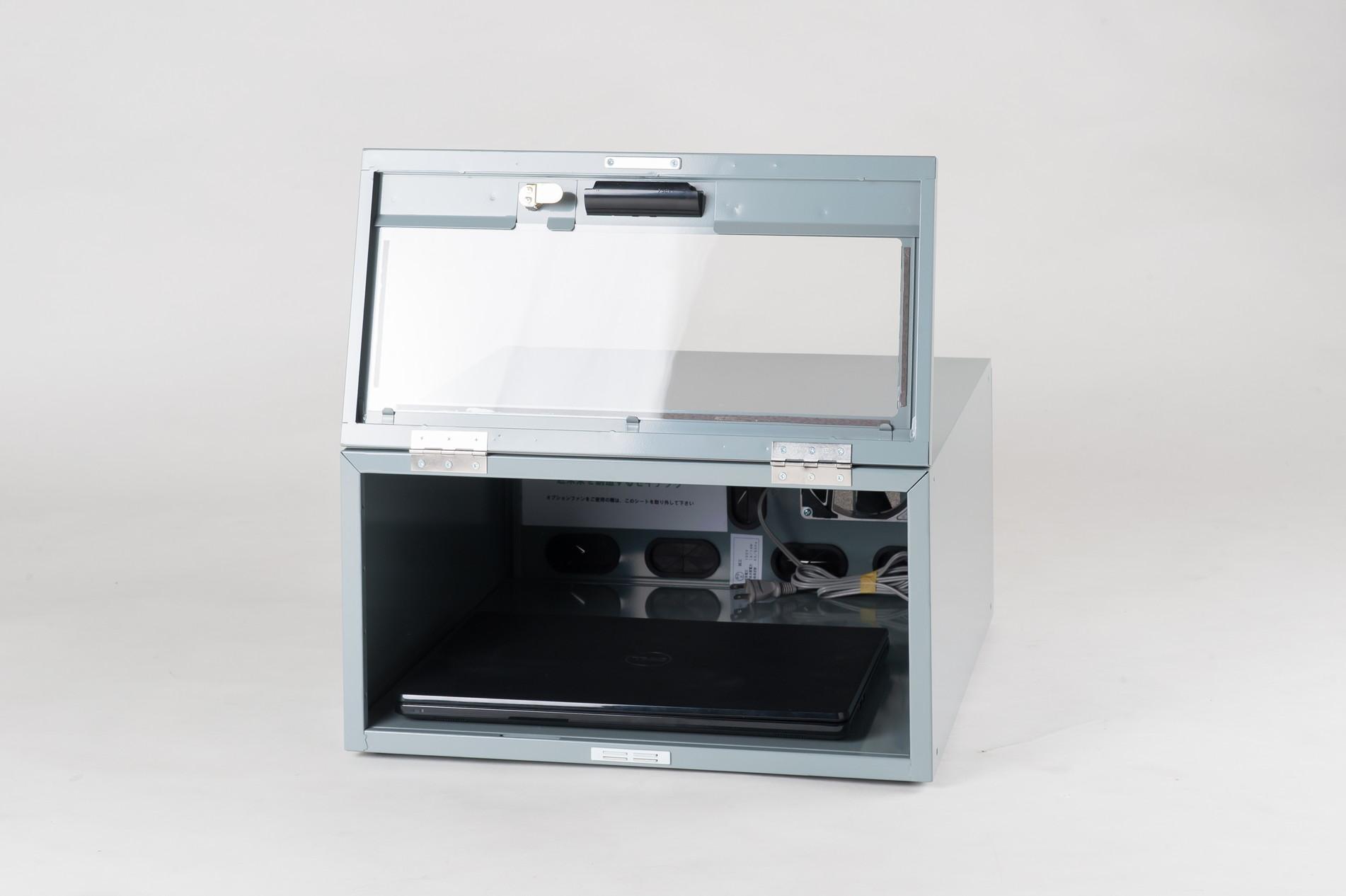 防塵ラック Tidy Box CPU 4UG グレー