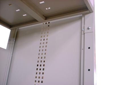 SV用幕板 60/90/120/160 サーバーラック専用オプション フレーム用幕板