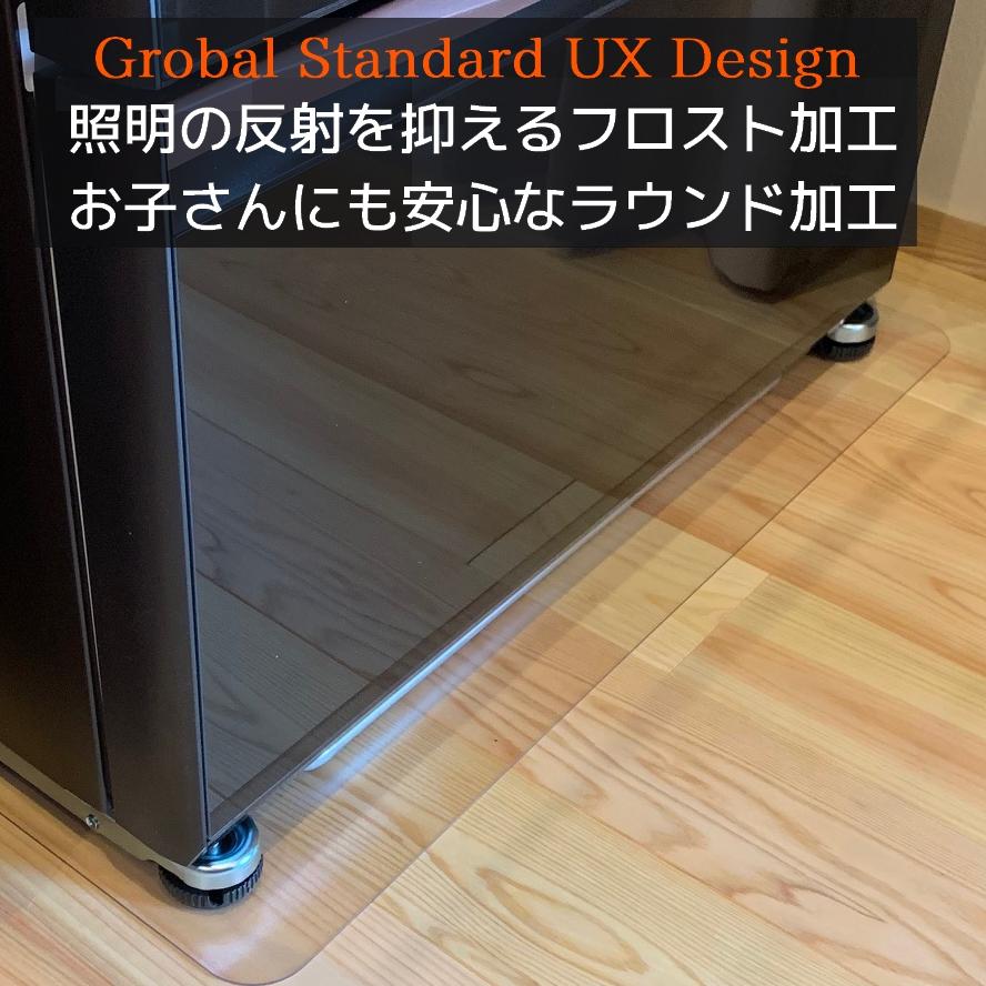 【送料無料】セイコーテクノ 冷蔵庫キズ防止マット Lサイズ 〜600Lクラス RSM-L 70cm×75cm 在庫あり即納