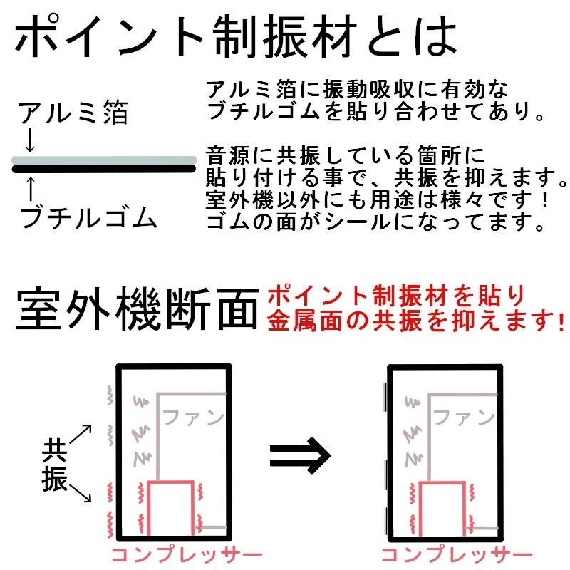 セイコーテクノ 防振ゴムブロック GBK-40 エアコン室外機の振動対策に
