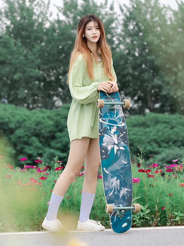 【送料無料】NOTHOME 不在家 羅刹 コンプリートデッキ ロングスケートボード ロンスケ ロングボード 大人気商品 入荷しました!