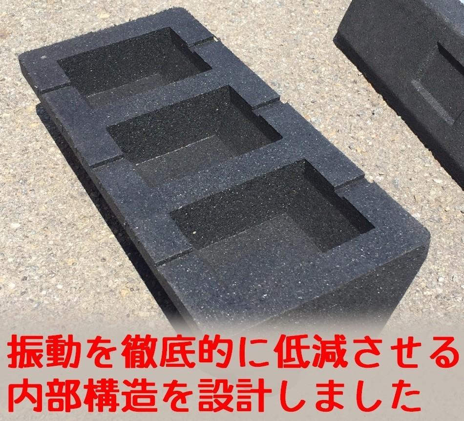 セイコーテクノ 防振ゴムブロック GBK-60 法人向け10セット パッケージエアコン室外機の振動対策に
