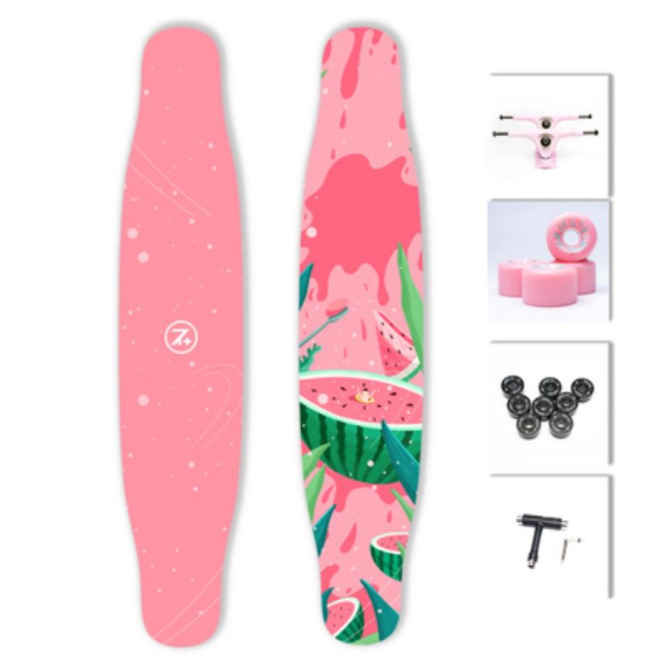 【送料無料】NOTHOME 不在家 西瓜 3.0 コンプリートデッキ VOGUE掲載モデル ロングスケートボード ロンスケ ロングボード 在庫あり