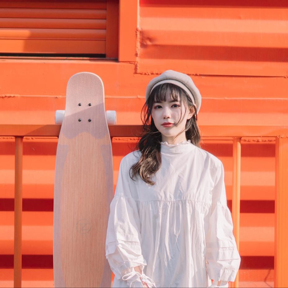 【送料無料】NOTHOME 西瓜 3.0 コンプリートデッキ VOGUE掲載モデル ロングスケートボード ロンスケ ロングボード 在庫あり