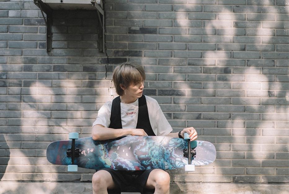 【送料無料】NOTHOME 不在家 VIRUS ロングスケートボード ロンスケ ロングボード 在庫あり