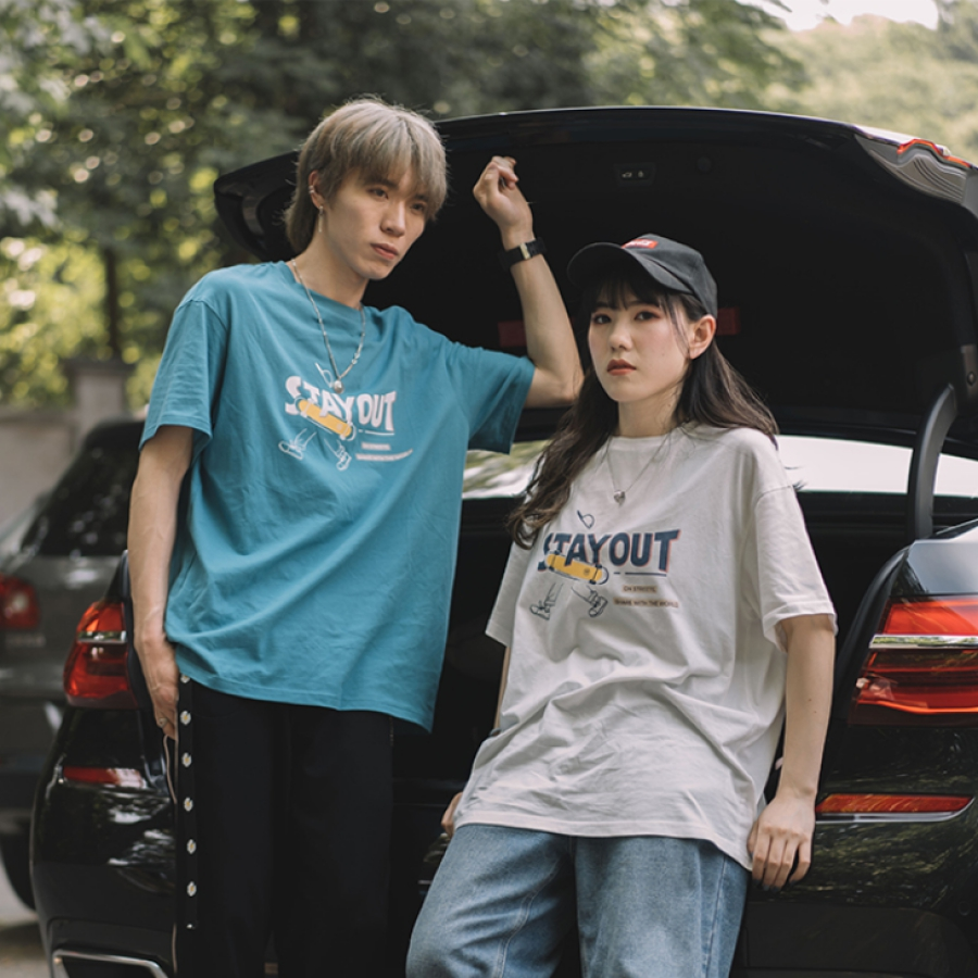 NOTHOME StayOut SK8 TEE