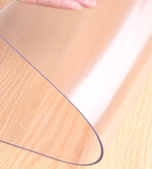 【送料無料】レビューでマスクプレゼント セイコーテクノ キッチンマット 240cm×60cm 1.5mm厚 クリア PVC 透明 拭ける 台所