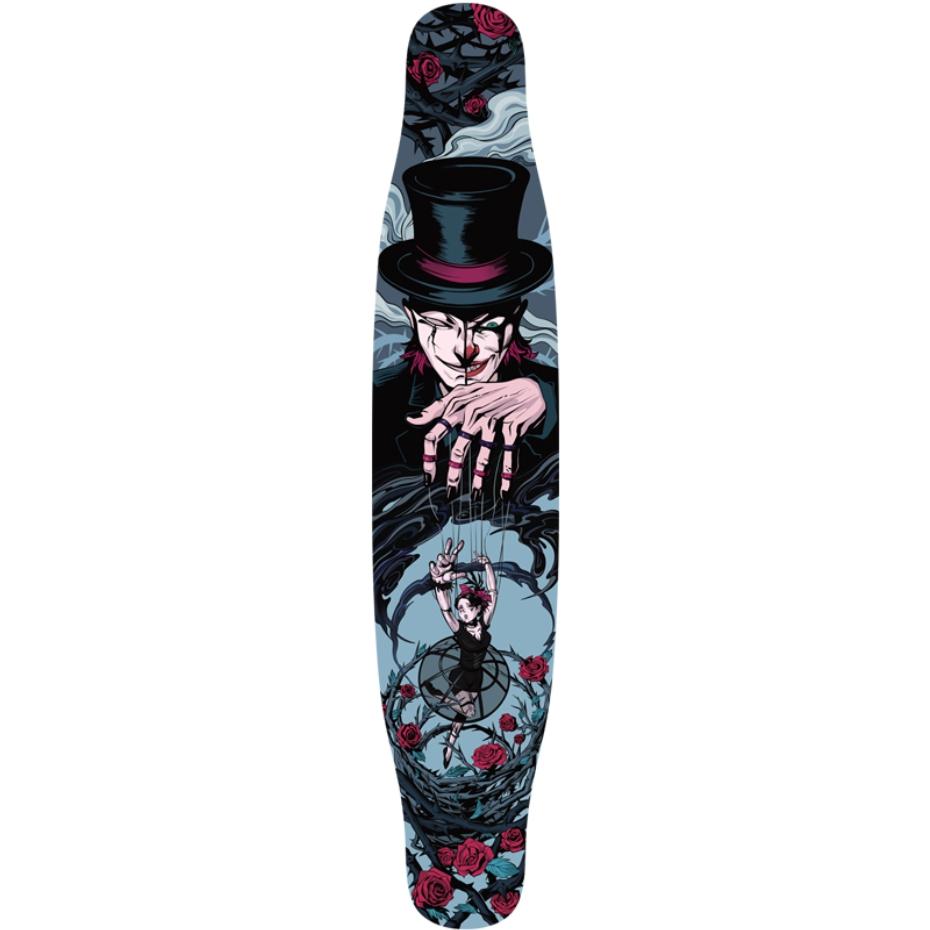【送料無料】NOTHOME 不在家 マリオネット コンプリートデッキ ロングスケートボード ロンスケ ロングボード 在庫あり
