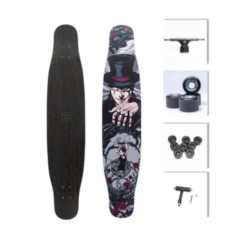 【送料無料】NOTHOME 不在家 マリオネット コンプリートデッキ ロングスケートボード ロンスケ ロングボード 大人気商品再入荷しました!