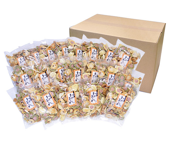 【送料無料】割れあられ20袋ケース入 サラダ味