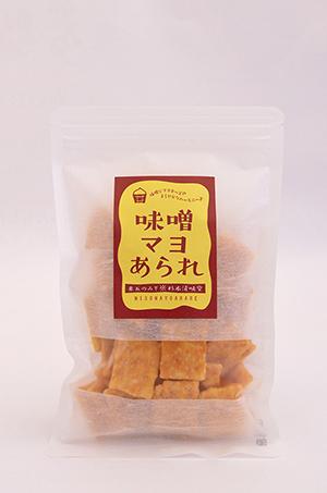 米五のみそ×杉本清味堂コラボ 味噌マヨあられ