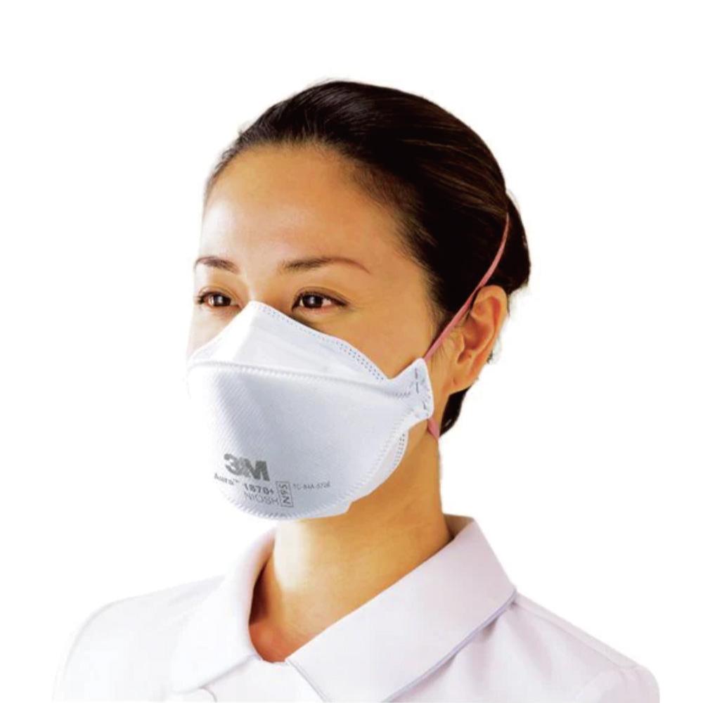 3M N95マスク(医療用)Aura 1870+ [20枚入 / 個包装](微粒子用マスク・防塵防護マスク)