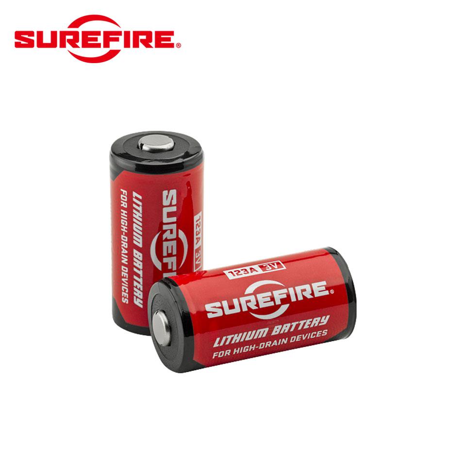 SureFire(シュアファイア)オリジナル・リチウムバッテリー(123Aリチウム電池 12個入/1箱)