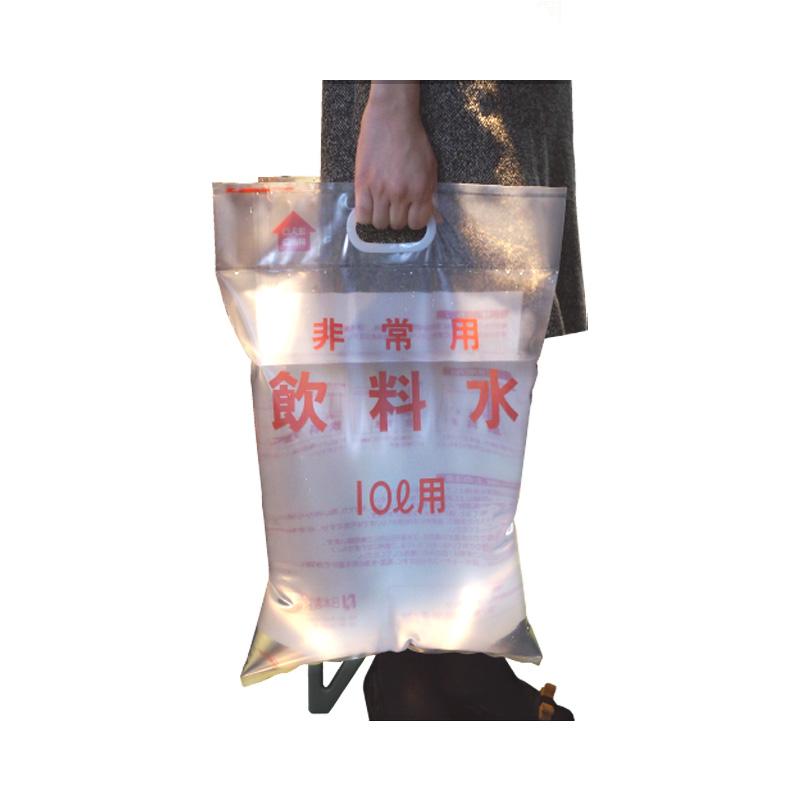 [非常用給水袋 手さげ付] 10リットル (1枚)