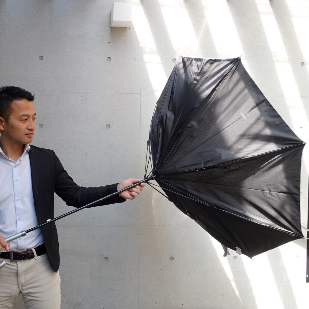 【日傘・晴雨兼用・長傘】【遮熱遮光(UVCUT99%)/シルバーコーティング無地】銀行員の日傘65cm(親骨65cm) ブランド:Waterfront(ウォーターフロント)