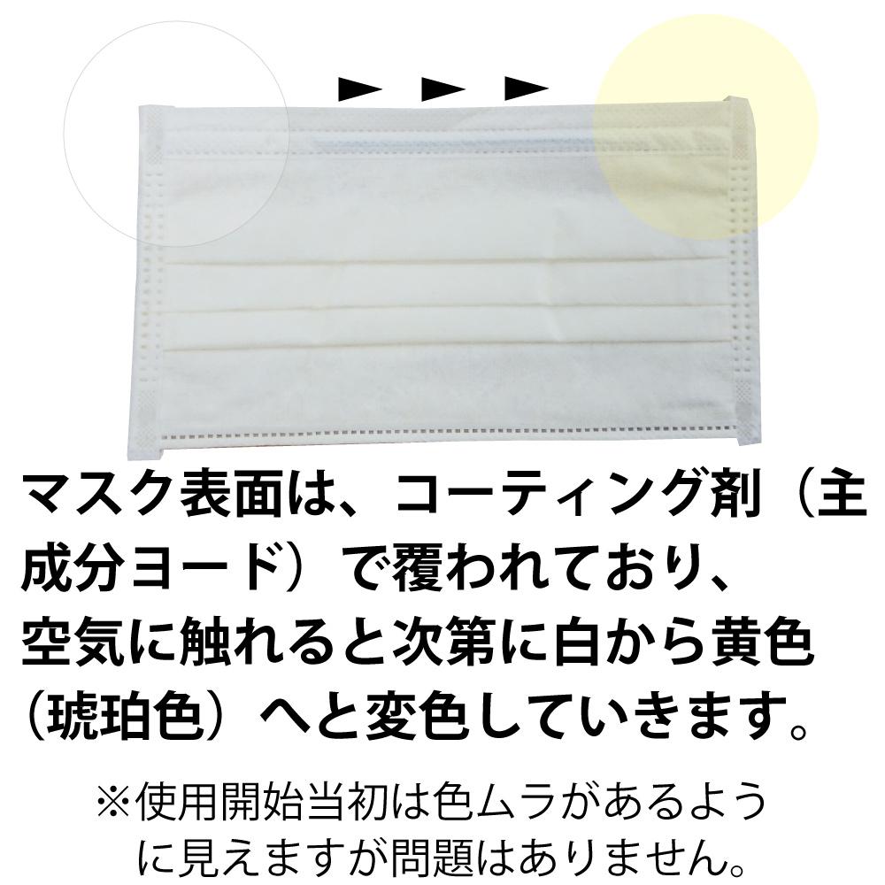 TrioMed アクティブ サージカル マスク(カナダ製)[50枚入り ※個包装ではありません]【米国FDA規格ASTM F2100 レベル3(最高)適合・欧州規格EN14683 TypeIIR適合】|[抗ウイルス][抗菌・消臭]