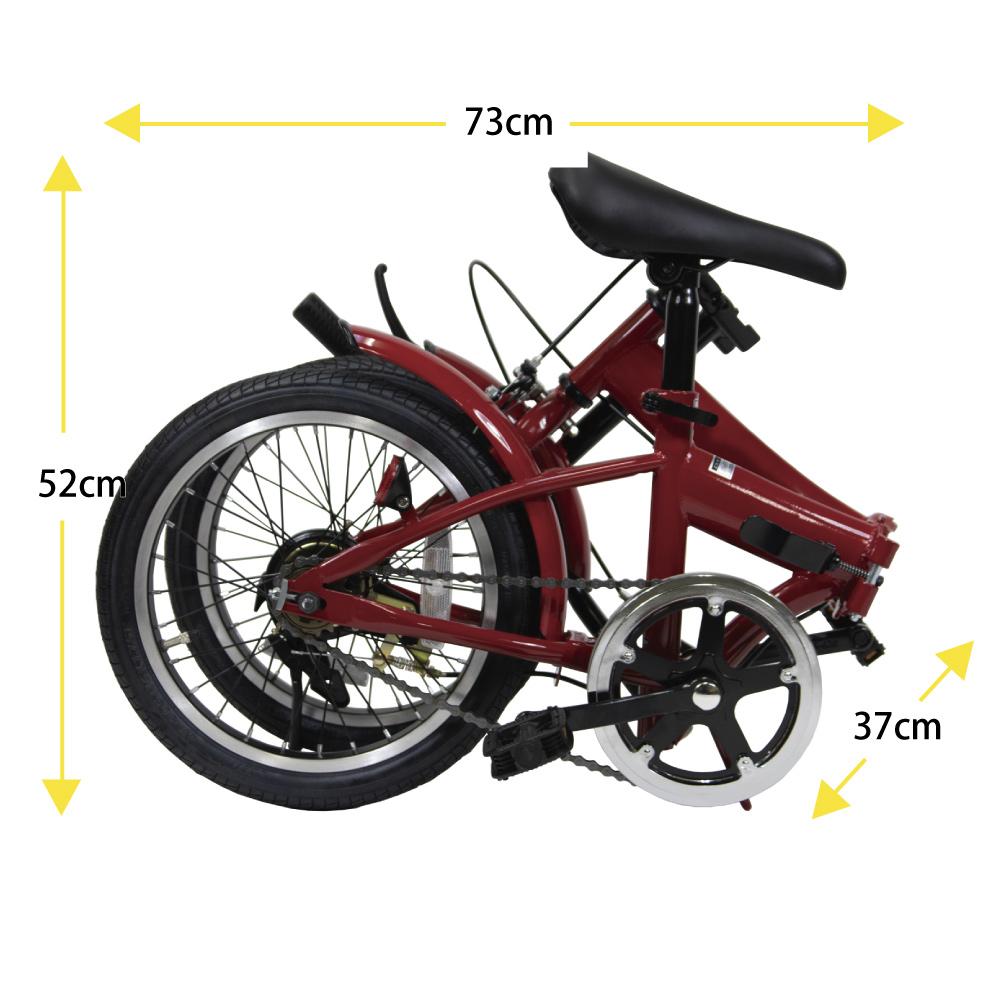折りたたみノーパンク自転車エアロ(備蓄用自転車) 《 16型 折りたたみコンパクト自転車+ノーパンクタイヤ 》100%完組出荷(届いてすぐ乗れます)