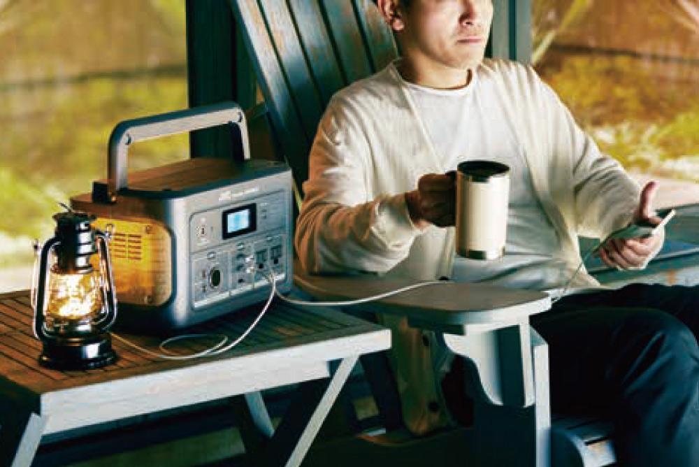 JVCポータブル電源BN-RB10-C(容量1002Wh/DC出力口1/AC出力口3/USB出力口4)| 連泊のキャンプや車中泊に最適なシリーズ最大容量モデル