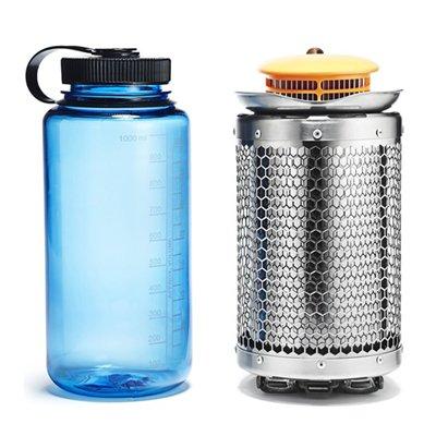 BioLite(バイオライト)キャンプストーブ2 PLUS with フレックスライト(スライド缶入り安全マッチ×1個付、燃料(ペレット)付)
