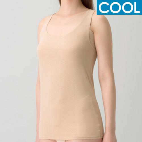 【COOL】[デオエスト(DEOEST)] Lady's 消臭ノースリーブ[汗取りパッド付き](涼感)[型番:IDG03]