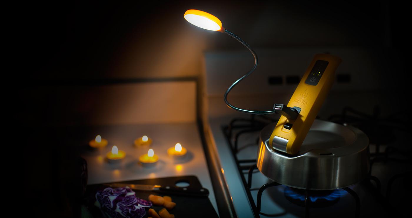 BioLite(バイオライト) ケトルチャージ (火にかけて発電する「やかん」蓄電池)