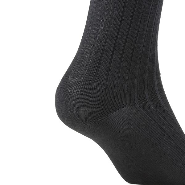 [デオエスト(DEOEST)] Men's 消臭ビジネスソックス・ベーシックリブ[型番:IDY00]
